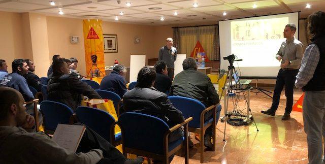Curso Sika 2018 en Claudio Barrios